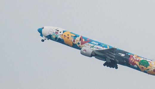 羽田空港で飛行機を見る!