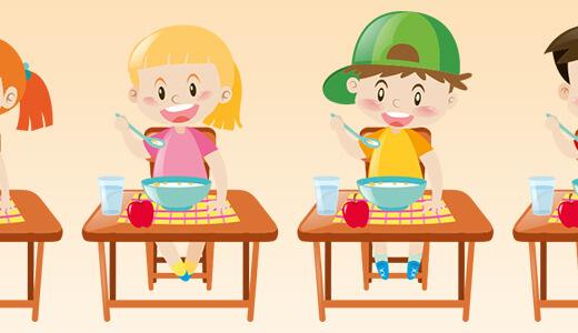 ゆっくり食べる習慣は保育園で苦労する?